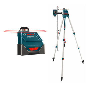 Bosch GLL-150-ECK Self-Leveling 360 Degree 500 ft. LR3 Exterior Laser Kit image number 0