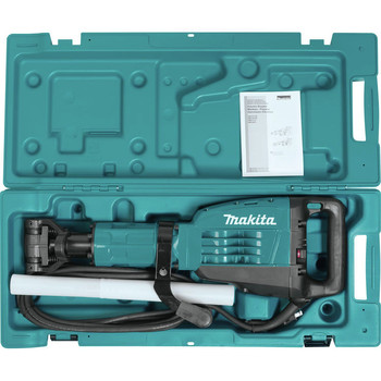 Makita HM1307CB 35 lb. 1-1/8 in. Hex Demolition Hammer Kit image number 3