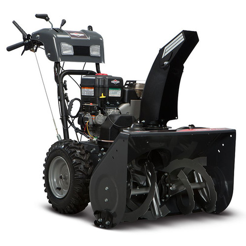 Briggs & Stratton 1529MS 306cc 29 in. Steerable Dual Stage Medium-Duty Gas Snow Thrower with Electric Start
