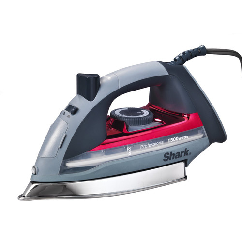 Shark GI305 1,500 Watts 7 in. Lightweight Professional Steam Iron