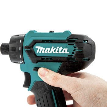 Makita FD10R1 12V max CXT Lithium-Ion Hex Brushless 1/4 in. Cordless Drill Driver Kit (2 Ah) image number 4