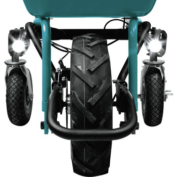 Makita XUC01X1 18V X2 LXT Brushless Cordless Power-Assisted Wheelbarrow (Tool Only) image number 2