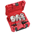 Milwaukee 49-22-4095 10-Piece HOLE DOZER Electrician's Bi-Metal Hole Saw Kit