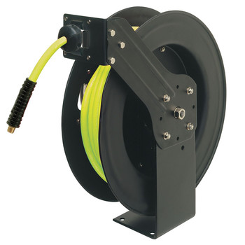 Legacy Mfg. Co. L8611FZ 3/8 in. X 50 ft. Retractable Open Face Hose Reel