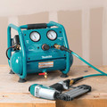 Factory Reconditioned Makita AC001-R 0.6 HP 1 Gallon Oil-Free Hand Carry Air Compressor image number 10