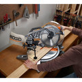 Factory Reconditioned Ridgid ZRR4122 12 in. Dual Bevel Compound Miter Saw with Laserguide image number 3