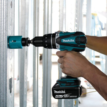 Makita XFD03M 18V LXT Lithium-Ion 1/2 in. Cordless Drill Driver Kit (4 Ah) image number 7