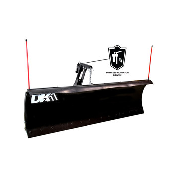 Detail K2 AVAL8826ELT Avalanche ELITE 88 in. x 26 in. Heavy Duty UNIVERSAL T-Frame Snow Plow Kit with ACT8020 Actuator and EWX004 Wireless Remote image number 1