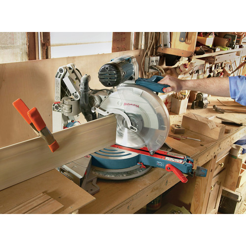 Factory Reconditioned Bosch GCM12SD-RT 12 in. Dual-Bevel Glide Miter Saw image number 18