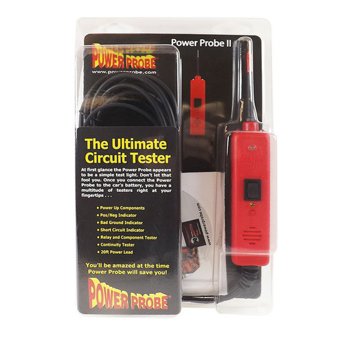 Power Probe PP219FT Power Probe II Circuit Tester (Red)