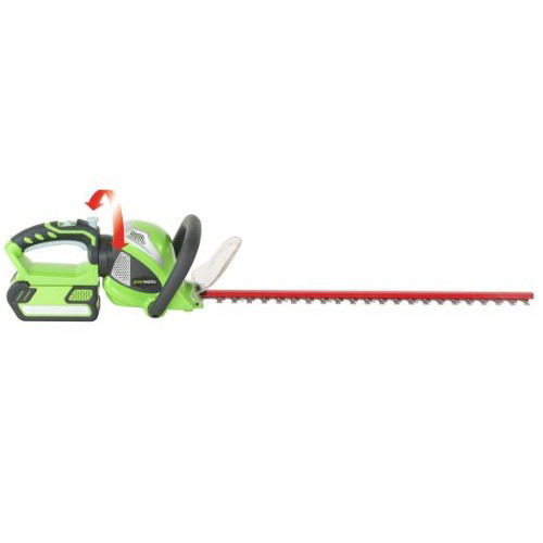 Greenworks 22632A 40V Cordless Lithium-Ion 22 in. Dual Action Electric Hedge Trimmer