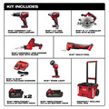 Milwaukee 2697-26PO M18 6-Tool PACKOUT Combo Kit image number 11