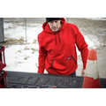 Milwaukee 350R-S Heavy Duty Pullover Hoodie - Red, Small image number 6