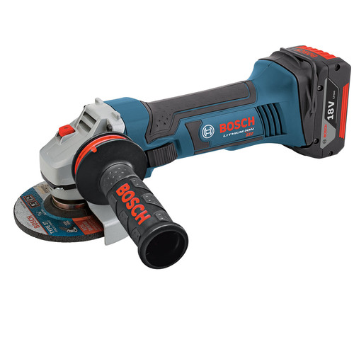 Factory Reconditioned Bosch GWS18V-50-RT 18V Cordless Lithium-Ion 5 in. Angle Grinder (Tool Only) image number 0
