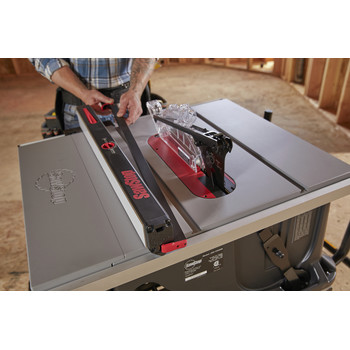 SawStop JSS-120A60 15 Amp 60Hz Jobsite Saw PRO with Mobile Cart Assembly image number 17