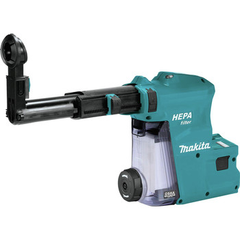 Makita DX08 Dust Extractor Attachment with HEPA Filter for XRH08