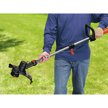 Black & Decker LST136 40V MAX Cordless Lithium-Ion High-Performance 13 in   String Trimmer with Power Command