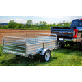 Detail K2 MMT5X7G 5 ft. x 7 ft. Multi Purpose Utility Trailer Kits (Galvanized) image number 8