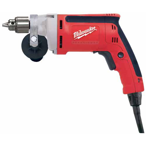 Factory Reconditioned Milwaukee 0100-80 1/4 in. Magnum Drill, 0 - 2,500 RPM with Keyed Chuck