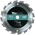 Makita T-01395 6-1/2 in. 16T Carbide-Tipped General Contractor Saw Blade image number 1