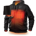 Milwaukee 302B-203X M12 12V Li-Ion Heated Hoodie (Jacket Only) - 3XL image number 2
