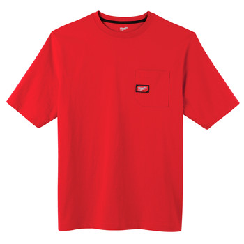 Milwaukee 601 Heavy Duty Short Sleeve Pocket Tee Shirt