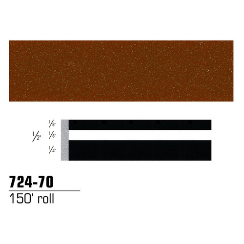 3M 72470 Scotchcal Striping Tape, Brown Metallic, 1/2 in. x 150 ft.