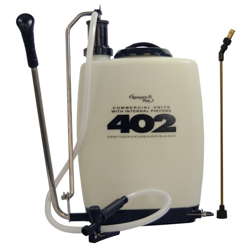 Sprayers Plus 402 5.3 Gallon Professional Backpack Sprayer with Internal Piston Pump