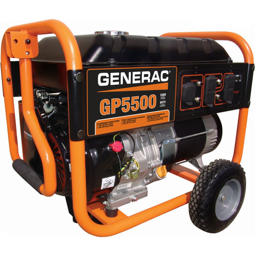 Generac GP5500 GP Series 5,500 Watt Portable Generator