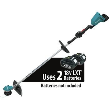 Factory Reconditioned Makita XRU09Z-R 18V X2 (36V) LXT Lithium-Ion Brushless Cordless String Trimmer (Tool Only) image number 0