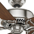 Casablanca 59511 54 in. Traditional Panama DC Brushed Nickel Walnut Indoor Ceiling Fan image number 6