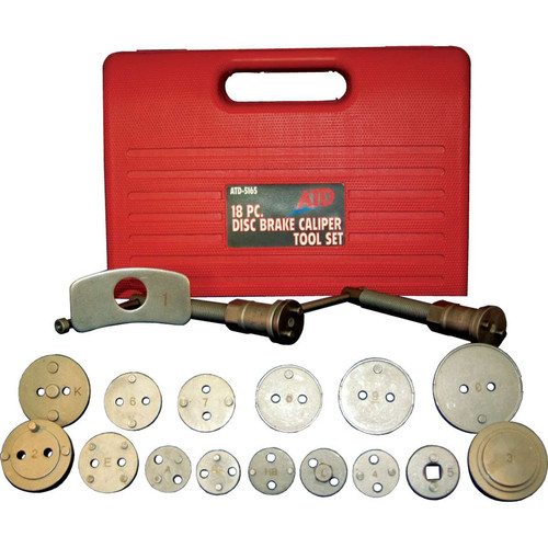 ATD 5165 18-Piece Brake Caliper Tool Set