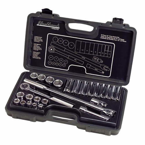 Blackhawk 1226NB 26 Piece Standard Socket Sets image number 0