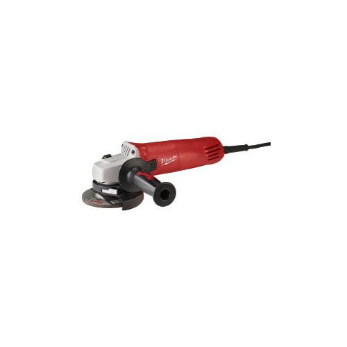 Factory Reconditioned Milwaukee 6140-830 4-1/2 in. 7.5 Amp Paddle Switch Small Angle Grinder with Lock-On Button