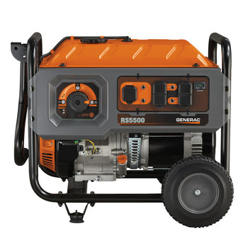 Factory Reconditioned Generac 6672R 5,500 Watt Portable Generator with Cord image number 1