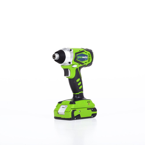 Greenworks 37032B G-24 24V Cordless Lithium-Ion 1/4 in. Hex Impact Driver