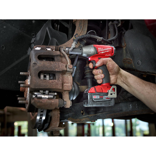 """Milwaukee M18 FUEL 3//8/"""" Impact Wrench Friction Ring Kit 5.0 Batteries 2754-22"""