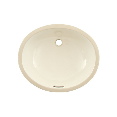 TOTO LT569#12 Undermount Vitreous China 16.25 in. x 19.25 in. Round Bathroom Sink (Sedona Beige)