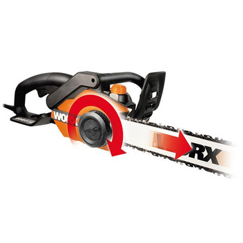 Worx wg3041 15 amp 18 in electric chainsaw greentooth Choice Image