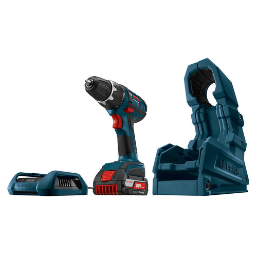 Factory Reconditioned Bosch WC18CHF-102DDS-RT 18V Cordless Lithium-Ion Compact Tough 1/2 in. Drill Driver with Wireless Charging Kit