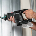Makita XRJ07ZB 18V LXT Lithium-Ion Sub-Compact Brushless Cordless Reciprocataing Saw (Tool Only) image number 7