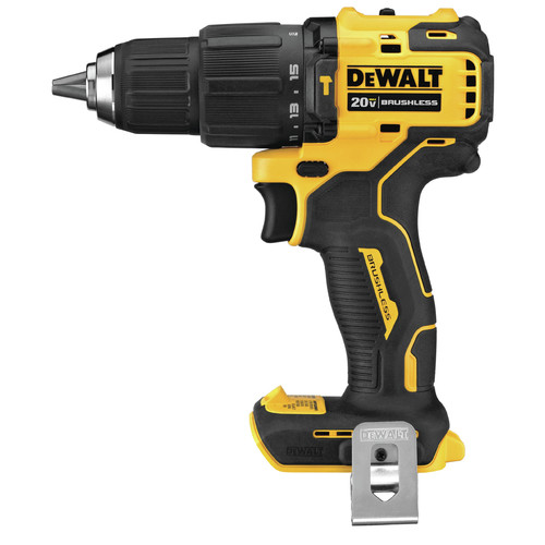 Dewalt DCD709B ATOMIC 20V MAX Compact Brushless Hammer Drill (Tool Only)