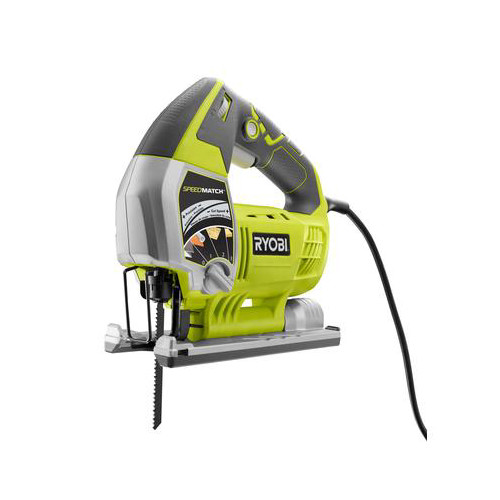 Factory Reconditioned Ryobi ZRJS651L 6.1 Amp Variable-Speed Orbital Jigsaw with SpeedMatch