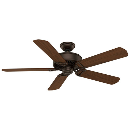 Casablanca 59512 54 in. Traditional Panama DC Brushed Cocoa Walnut Indoor Ceiling Fan