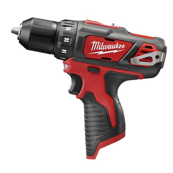 Factory Reconditioned Milwaukee 2407-80 M12 0 - 400 / 0 - 1500 RPM Lithium-Ion 2-Speed 3/8 in. Cordless Drill Driver (Tool Only)