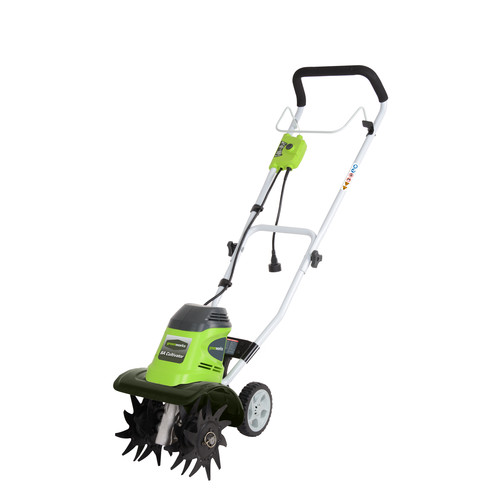 Greenworks 27072 10 in. 8 Amp Electric Cultivator
