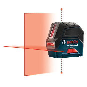 Bosch GCL2-160 Self-Leveling Cross-Line Laser with Plumb Points image number 6