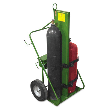 Saf-T-cart 552-16FW 550 Series 1,000 lbs. Capacity Cart (Green) image number 0