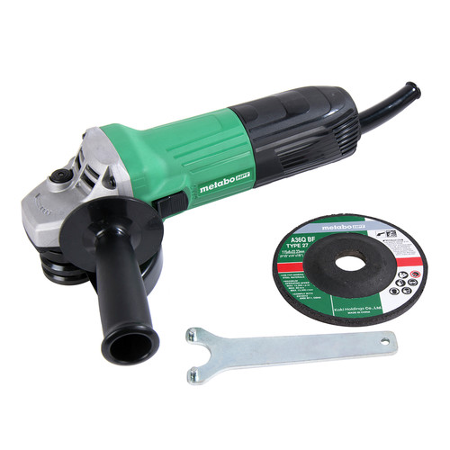 Factory Reconditioned Metabo HPT G12SS2M 5.1 Amp 4-1/2 in. Corded Angle Grinder image number 0