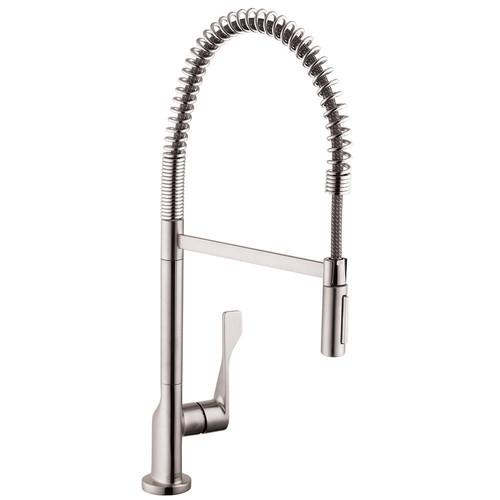 Hansgrohe 39840801 Axor Citterio 2-Spray Semi-Pro Kitchen Faucet ...